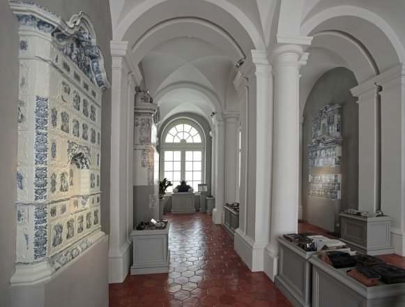 Krāšņu keramikas kolekcija