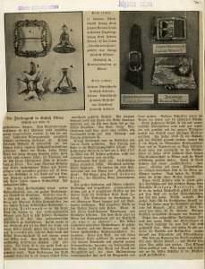 Publikācija avīzē – Dr. A. Rafaela pētījuma rezultāti ar unikāliem fotoattēliem, kuros redzami neatgriezeniski zuduši priekšmeti.