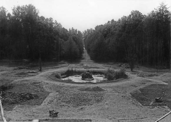 Regulārais parks. Foto, 1934