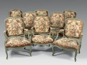 Krēsli (8). Francija, 18. gs. vidus