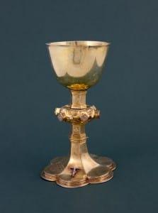 Svētā Vakarēdiena kauss. Kurzeme. 1646. gads