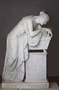 Paolo Triskorni. Firstienes Šarlotes Margaretas Līvenas kapa piemineklis. Krievija. Pēc 1828