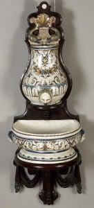 Roku mazgājamais fontāns. Francija, Ruāna, 18. gs. 1. puse
