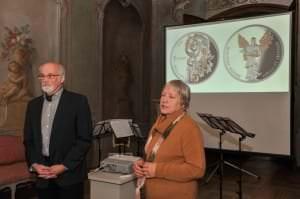 """Monētas """"Kurzemes baroks"""" prezentācija /09.12.2014./"""