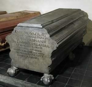 Саркофаг герцога Курляндии Фердинанда