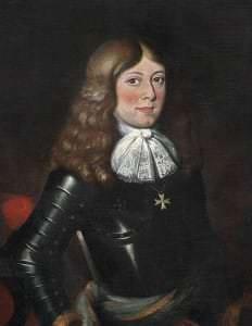 Принц Курляндии Александр. Неизвестный художник. Копия 18 века. Шведский национальный музей, замок Грипсхольм
