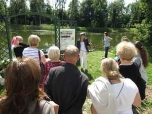 Bauskas reģiona tūrisma uzņēmēju tikšanās Rundāles pils apkārtnē /18.07.2012./
