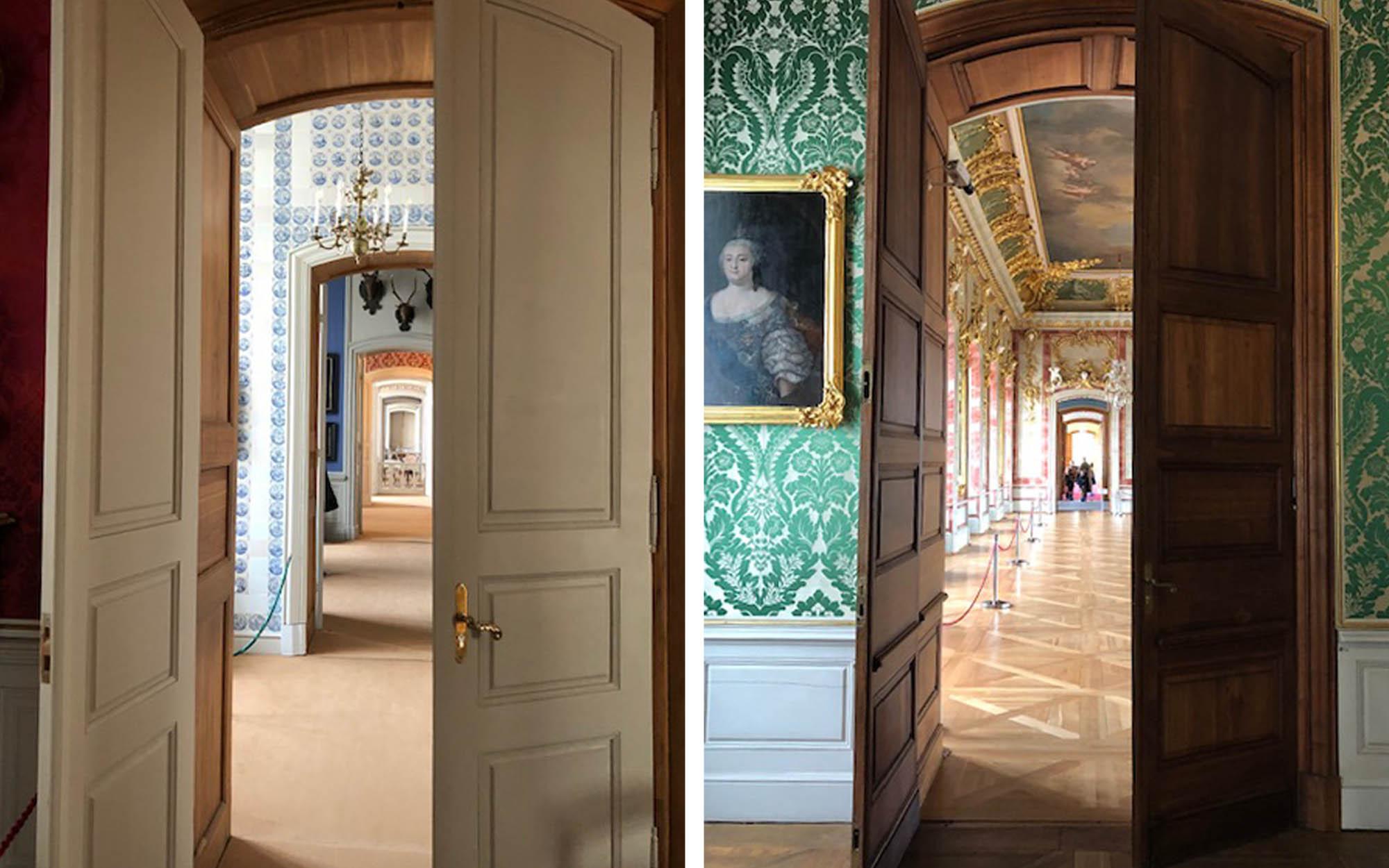 Kāpēc telpu durvis ir dažādas – gan nekrāsotas, gan krāsotas?