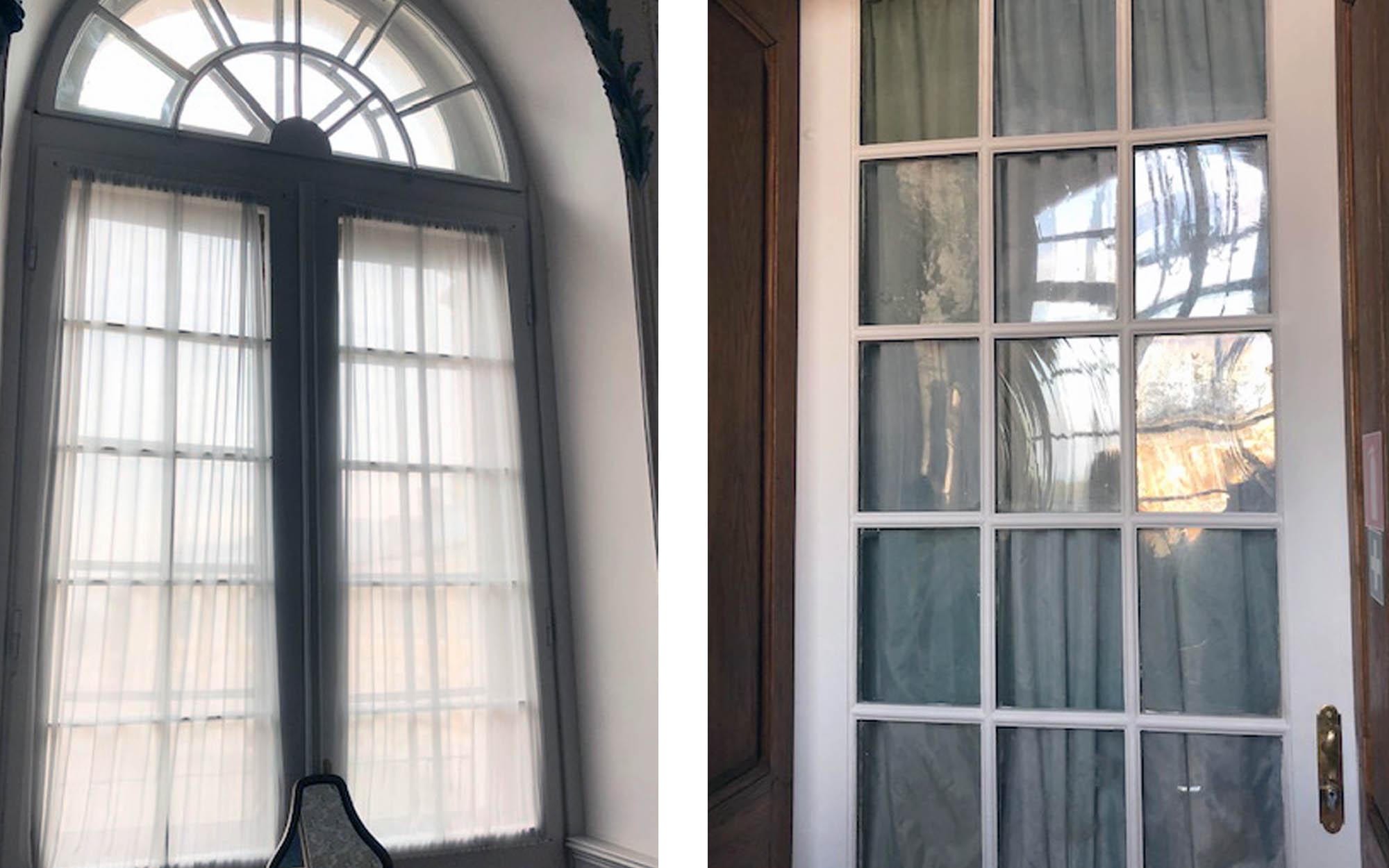 Vai pilī ir saglabājušies logi no 18. gadsimta?