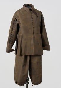Hercoga Vilhelma svārki un bikses pēc restaurācijas