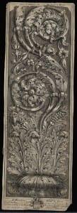 Gravīra – akanta lapu vijuma ornaments. J. Verhelsts.  18. gs.