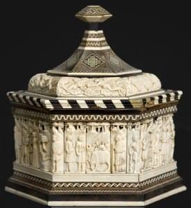"""""""Kāzu lādīte"""". Itālija, Venēcija, Embriaki ģimenes darbnīca, 15. gs. sākums"""