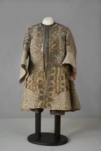 Hercoga Frīdriha Kazimira tērps pēc restaurācijas