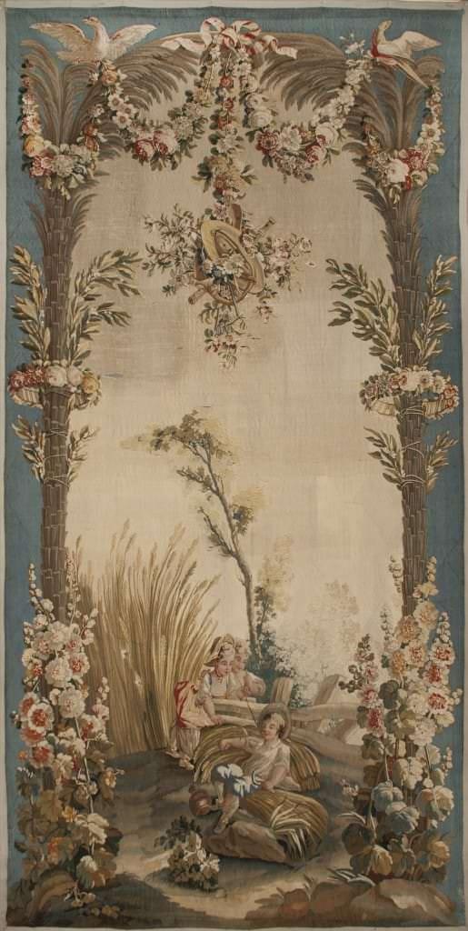 "Gobelēns ""Vasara"". Francija, Obisonas manufaktūra. 18. gs. 2. puse"