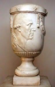 Nezināms mākslinieks. Vācija, Berlīne. Firsta Karla fon der Ostena – Sakena kapa piemineklis. 18.gs.beigas.