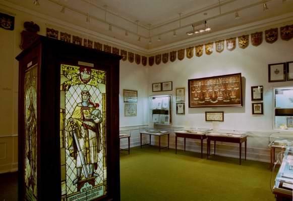 Heraldikas izstades 62 telpa