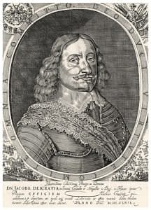 Kurzemes hercogs Jēkabs. Matiasa Cvičeka gravīra. 1648