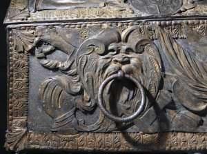 Hercoga Jēkaba sarkofāga detaļa