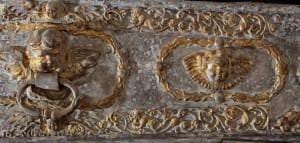 Prinča Johana Frīdriha sarkofāga fragments