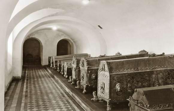 Kurzemes hercogu kapenes 1934. gadā