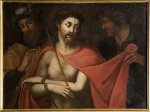 Nezināms mākslinieks. Nīderlande. Kristus zaimošana (Ecce Homo), 16.gs.2.puse.