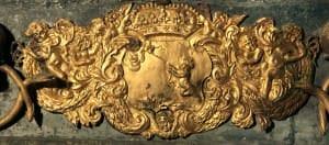 Prinča Leopolda Kārļa sarkofāga detaļa