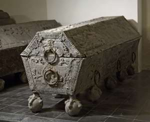 Hercogienes Luīzes Šarlotes sarkofāgs