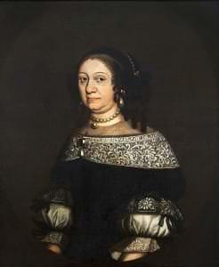 Kurzemes hercogiene Luīze Šarlote. Nezināms mākslinieks. 17. gs. beigas