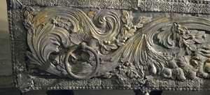 Hercogienes Luīzes Šarlotes sarkofāga fragments