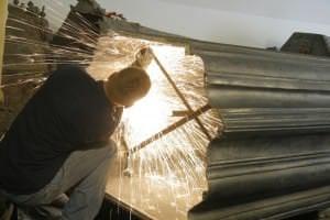 Kurzemes hercoga Ferdinanda sarkofāga tehnisko konstrukciju nostiprināšanu veic Arvis Druviņš