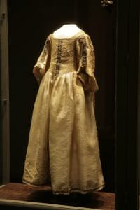 Princeses Kristīnes Sofijas kleita pēc restaurācijas