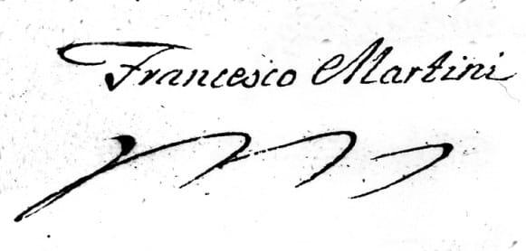 Martini paraksts