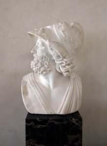 Menelaja galva. Itālija, 19.gs.sākums. Kopija no grieķu oriģināla, 2.gs.p.m.ē.