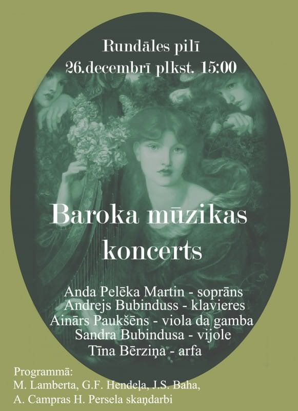 Baroka mūzikas koncerts