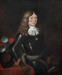 Kurzemes princis Aleksandrs. Nezināms mākslinieks. 18. gs. sākuma kopija. Zviedrijas Nacionālā muzeja krājums Gripsholmas pilī