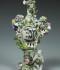 Smaržu vāze – popurijs. Vācija, Ludvigsburgas porcelāna manufaktūra, ap 1765–1770. RPM kolekcija, RPM 11776