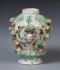 Smaržu vāze – popurijs. Anglija, Bouas porcelāna manufaktūra, 18. gs. 3. ceturksnis. RPM kolekcija, RPM 11130