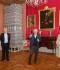 Valsts prezidenta Egīla Levita vizīte Rundāles pilī